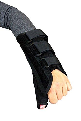 Premium Thumb Wrist Brace Right Hand (Medium) (Thumb Cast compare prices)