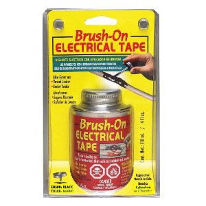 Brush On Liquid Electrical Tape, 4 Oz Can