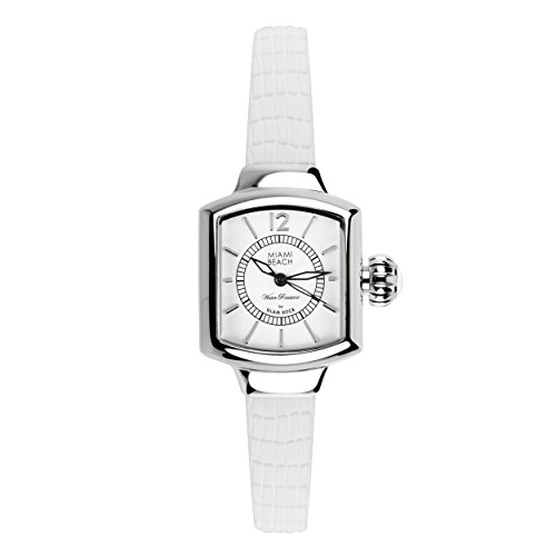 Glam Rock MBD27220 - Reloj para mujeres color blanco