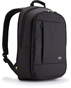 Case Logic 15.6-Inch Laptop Backpack (Black) (MLBP-115BLK)