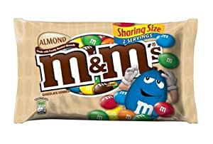 M&Ms Almond and Chocolate Sharing Bag 80.3g x3