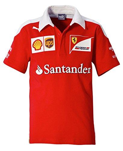 Puma Sf Team Polo - Rosso (Rosso Corsa) - S