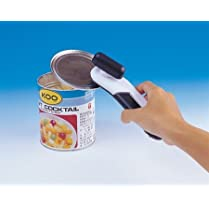 Value Can & Tin Opener - Black/Grey