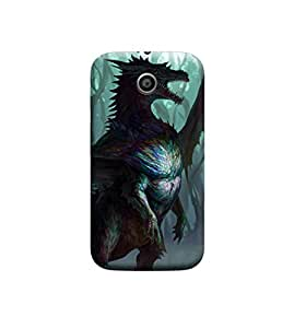 EPICCASE Premium Printed Mobile Back Case Cover With Full protection For Motorola Moto E (Designer Case)