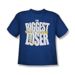 The Biggest Loser Team New Logo Blue Youth T-Shirt