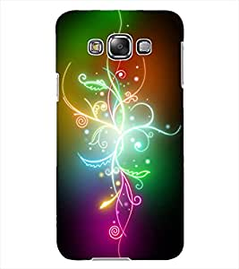 ColourCraft Colourful Flower Design Back Case Cover for SAMSUNG GALAXY GRAND 3