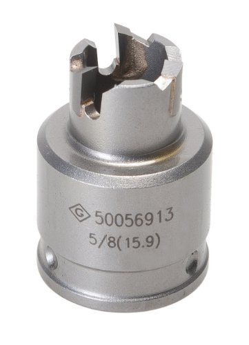 Greenlee 645-5/8 Quick Change Stainless Steel Hole Cutter, 5/8-Inch