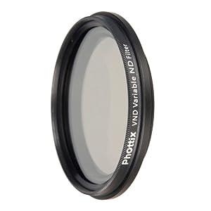 PHOTTIX filtre ND variable 77 mm: Photo & Caméscopes