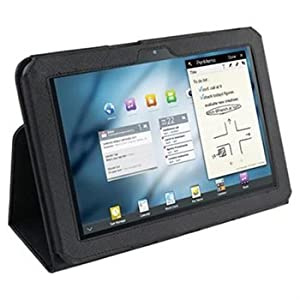 Belkin F8M168 Verve Leather Folio Stand Case for Samsung Galaxy Tab 8.9 LTE - Black [Retail Packaging] by Belkin Components