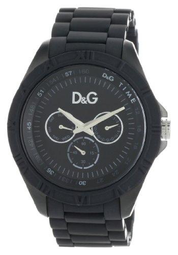 D&G Dolce & Gabbana Men's DW0767 Chamonix Round Analog Roman Numeral Bezel Watch