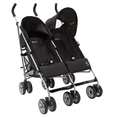 Tippitoes Reflect Twin Pushchair