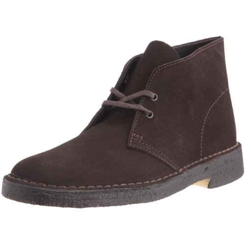 Clarks Desert Boot Desert Boots Mens Brown Braun (BROWN Sde) Size: 6 (39.5 EU)