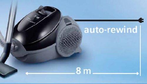 Aspiradora de bolsa marca siemens, potencia de 2100w