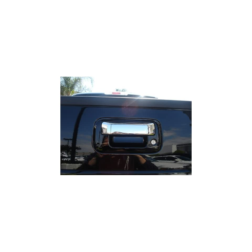 Ford Super Duty 08 11 / Explorer Sport Trac 07 11 / F 150 04 11 Chrome Stainless Steel Tailgate Handle Insert Accent (Lever Only)