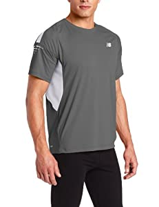 New Balance Men's Impact Short Sleeve Tee, Magnet, Small