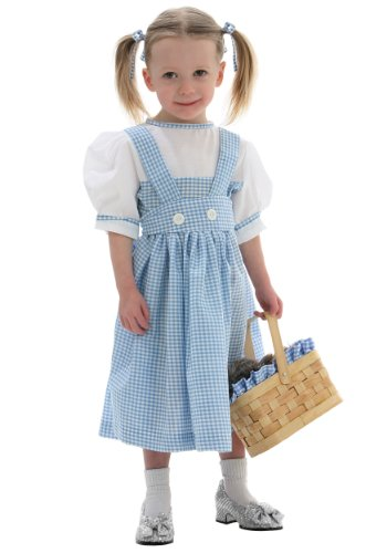 [Little Girls' Dorothy Toddler Costumes Child Size 18 Mo] (Baby Dorothy Costumes)