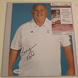 Autographed Carl George Photo - Denver Nuggets Coach 8x10 Coa - JSA Certified -... by Sports Memorabilia