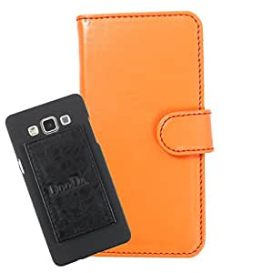 DooDa PU Leather Wallet Flip Case Cover With Card & ID Slots For LG Magna - Back Cover Not Included Peel And Paste