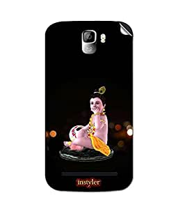 instyler MOBILE STICKER FOR MICROMAX CANVAS ENTICEA105