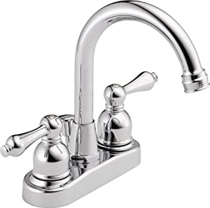 peerless was00xc two handle centerset lavatory faucet with