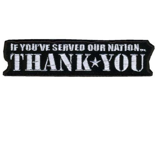 Hot Leathers If You Served...Thank You Patch (4