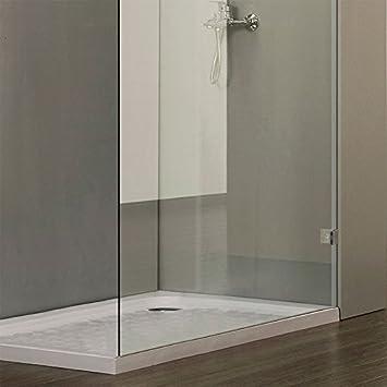7 creazur paroi de de douche fixe 6mm 120x200cm cuisine maison - Paroi douche fixe 120 ...