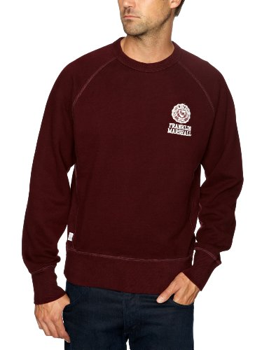 Franklin & Marshall FLMC023W12 Men's Jumper Vintage Port X-Large