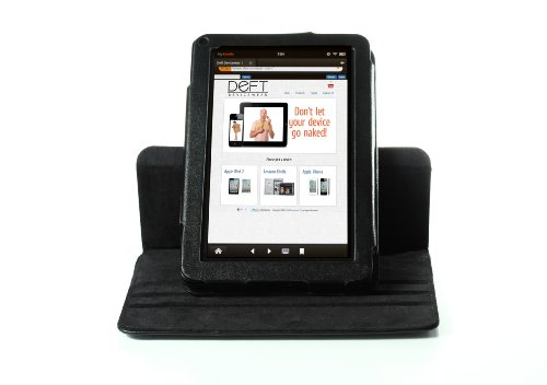 Deft Devicewear Dante 360 Rotating Black Kindle