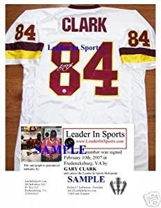 Gary Clark Autographed Jersey - Washington Redskins