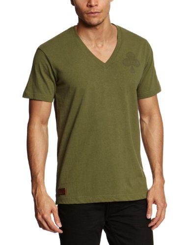 G-Star Raw RCO Clubs V Shortsleeve Printed Men's T-Shirt Sage X-Large - 21.131.84554A.4561.724.0.XL