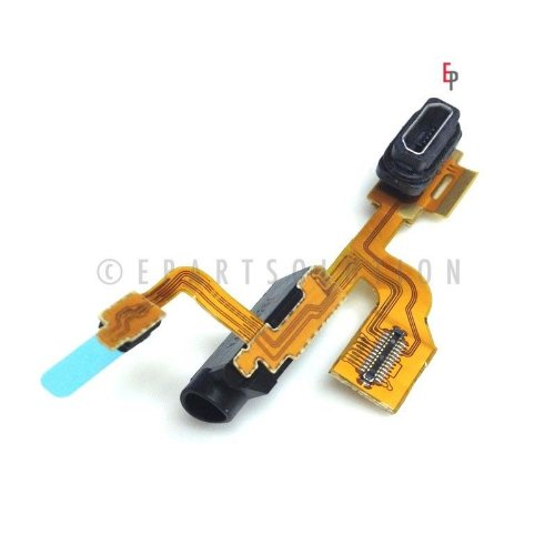 Epartsolution-Nokia Lumia 925 Charger Charging Port Flex Cable Audio Jack Flex Cable Dock Connector Usb Port Repair Part Usa Seller