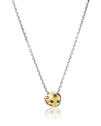 Elizabeth and James 23K Gold-Plated Mushroom Pendant Necklace As You See