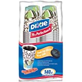 Dixie - PerfecTouch, Insulated Paper Hot Cup, 16 oz., Coffee Haze Design - 140 Cups