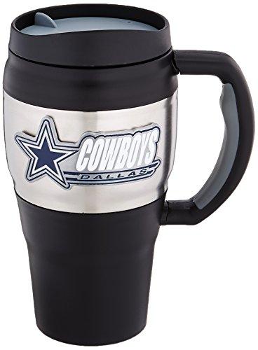 NFL Dallas Cowboys 20-Ounce Travel Mug (Dallas Cowboys Coffee Travel Mug compare prices)