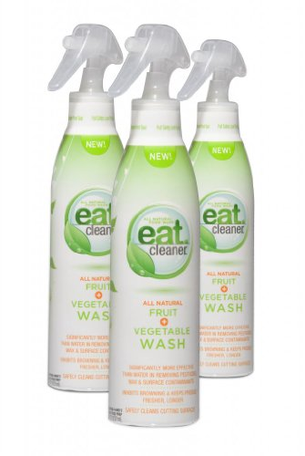 Eat Cleaner Fresh Fruit and Vegetable Wash, 8 oz. (Pack of 3) EAC-00203-7P3 at Sears.com