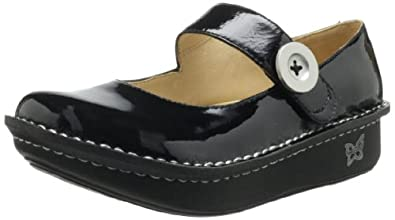 Women's Alegria by PG Lite Shoes, Paloma (Size--US: 7-7.5, Euro: 37/Black)