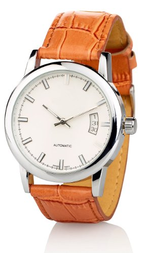 St. Leonhard Klassische Herrenarmbanduhr mit Automatik-Uhrwerk
