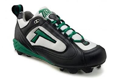 Buy Tanel 360-degree RPM Lite. Low-Cut Turf Shoes. Mens Turf Cleats. Black White Green. RPMTurf_Low_BWG by Tanel 360