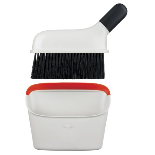 OXO Good Grips Little Dustpan and Brush Set (Broom With Cleaning Dust Pan compare prices)