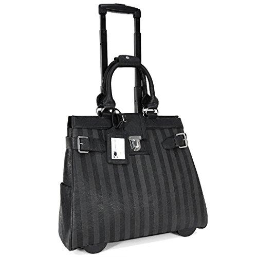 cabrelli-lazer-print-wheeled-womens-briefcase-black-one-size