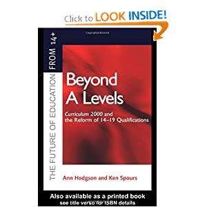 Amazon.com: Beyond A-levels: Curriculum 2000 and the Reform of 14 ...