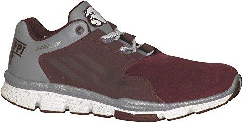 Adidas-Mens-Gameday-Luxe-Cross-Training-GreyMaroonRunning-White-DM-US