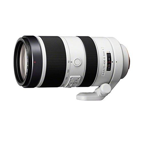 Sony SAL70400G2, Tele-Zoom-Objektiv (70-400 mm, F4-5,6 G SSM II, A-Mount Vollformat, geeignet für A99 Serie) schwarz/weiß