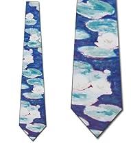 Water Lillies Tie Monet NeckTies