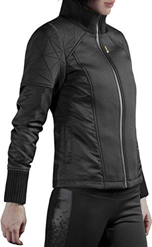 Musterbrand Deus Ex Giacca Donna Hengsha Futuristic Design / Gaming Clothes Nero XS