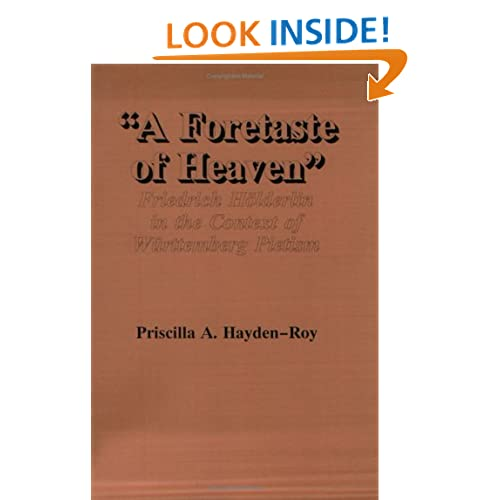 A Foretaste of Heaven: Friedrich H