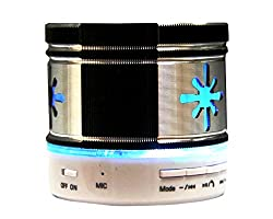 JT Portable Bluetooth Mini Bluetooth Speaker With MIC , Memory Card Slot , Aux