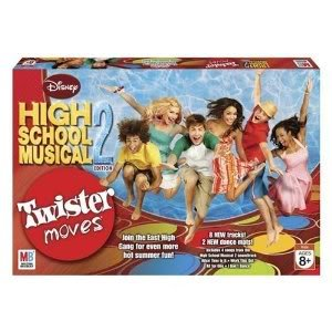 Toy / Game Twister Moves High School Musical 2 Includes 4 Songs And Dance Tracks From Hsm 2 Soundtrack front-1017614