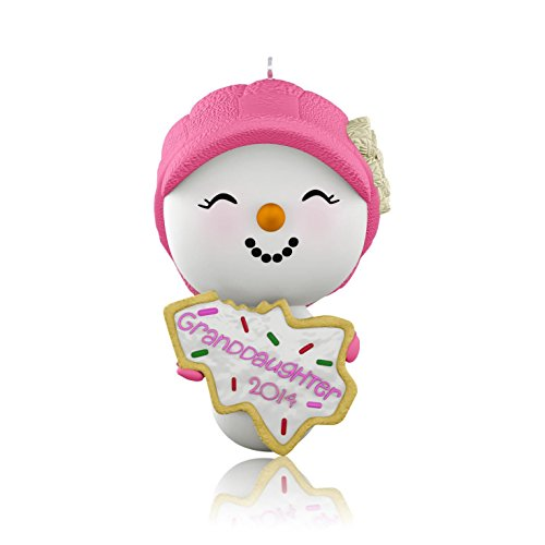 Hallmark QGO1063 Granddaughter – 2014 Hallmark Keepsake Ornament