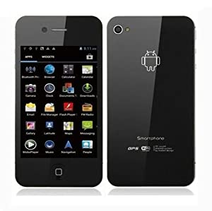 STAR W007 3.5 Inch Capacitive Screen Cortex A9 1GHz Android 4.0 SmartPhone Dual SIM Dual Camera WIFI GPS